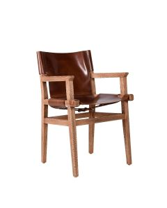 SANCTUM DINING CHAIR WITH ARM